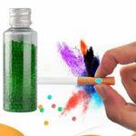 POPQ 1000 Pcs DIY Capsules Aromatiques Perle, Menthe Saveur Porte-Cigarette Burst Explosion Aromatique Boule Infusions Aromatiques Huile Végétale Mélangées Accessoires de Fumer