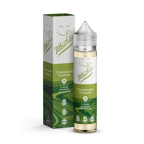 CHEESECAKE PISTACHE 50ml – Savourea – Machin – Sans Tabac – Sans Nicotine