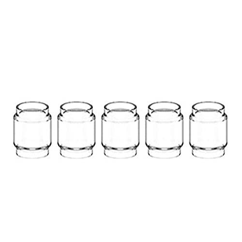 Pang-qingtian 5pcs Bubble Glass Tube Fit pour Target Mini Tarot Baby Fit pour Nano Gen S Kit Fit pour Revenger Mini Fit pour la Coupe en Verre Swag II (Couleur : 5PCS, Taille : Fit for Swag 4ml)