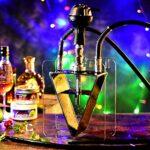 TVVT Kit de narguilé portable pour narguilé – Kit de protection contre les fumées HukAh – Avec tuyau de luxe, maison et fête A
