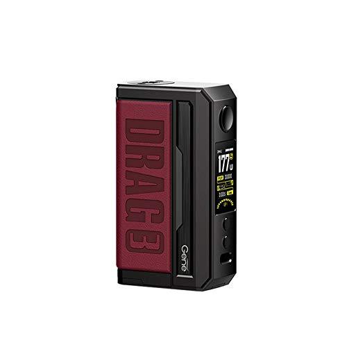 Vooopoo DRAG 3 MOD TC 177W Boîte à cigarettes électronique MOD Support de vape Cartouche TPP Pnp Pod TPP-DM1 Vaporisateur TPP-DM2 (Marsala)