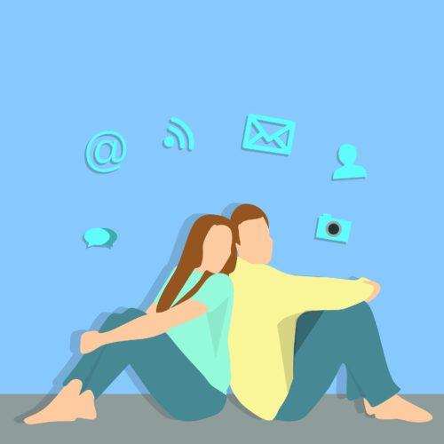 Rubijarena, el amor en las redes sociales.