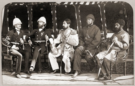 Mohammad_Yaqub_Khan_with_British_officers_in_May_of_1879