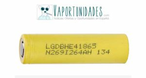 LG-ICR18650HE4-2500mAh