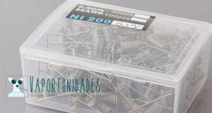 alambre, resitencia prefabricada, ni200, fasttech