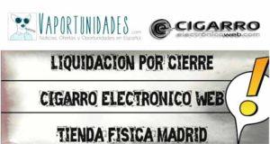 cigarroelectronicoweb liquidacion