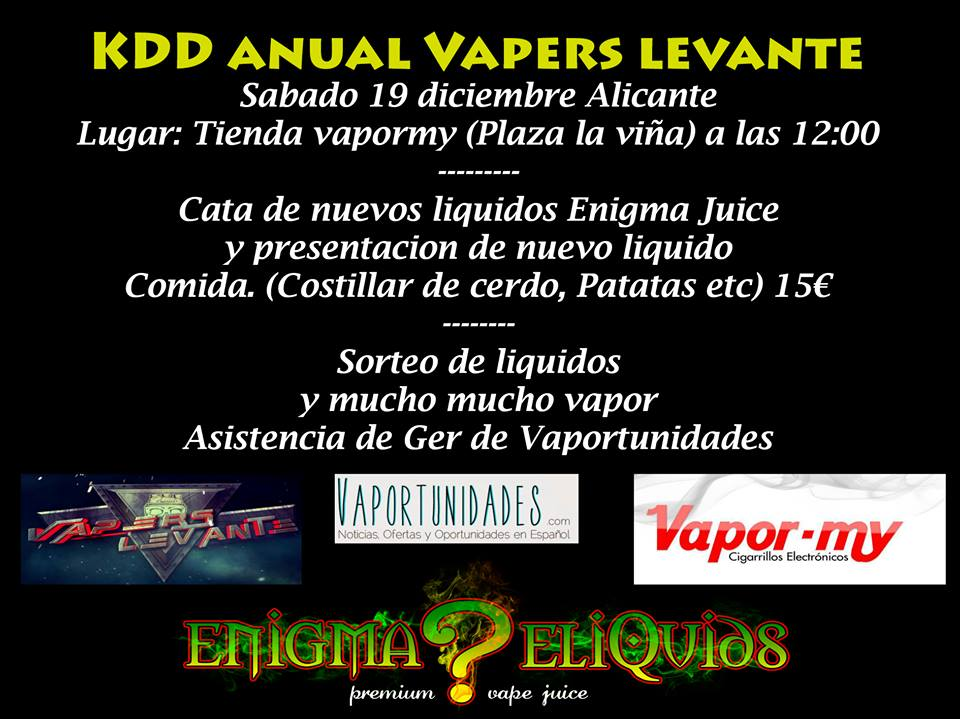 kdd vapers levante matt enigma juice