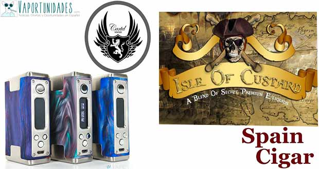 Cartel Mods e Isle of Custard