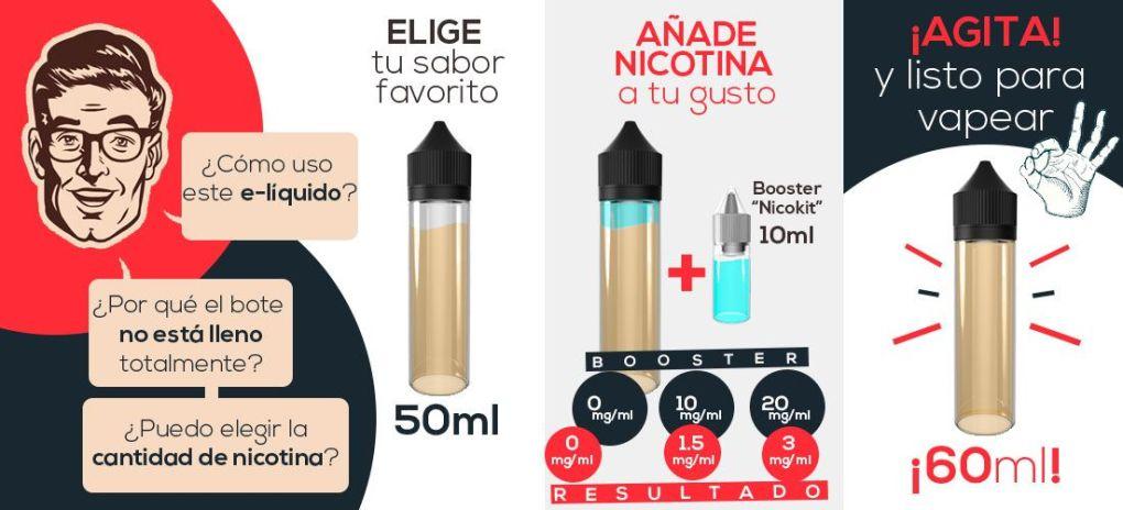 todovapeo milkshake liquid oferta espana