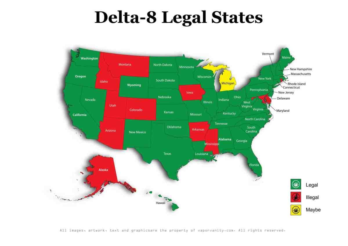 Delta-8 Legal States