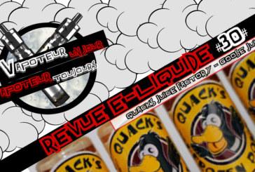 E-Liquid Review - Goose Juice by QUACKS JUICE FACTORY - США - #30