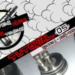 Tutorial #05 – RDA / IGO S – Presentation – Montage Micro-coil Coton