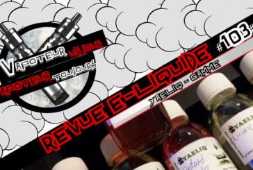 E-Liquid Review - Yaeliq - ISR - #103