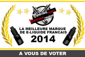结果:E-LIQUID FRENCH 2014的最佳品牌