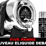 חמישה פאונדים: החדש E- נוזל DEBARQUE!