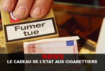 NEWS: The state's gift to tobacco companies!