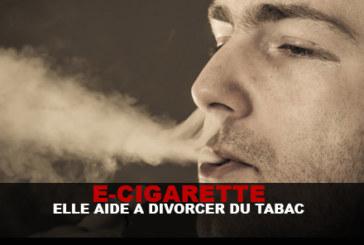 "E-CIG: ""זה עוזר להתגרש קצת טבק"" על פי Dt ברט."