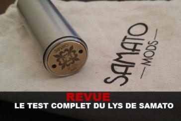 审查:SAMATO完整的百合测试