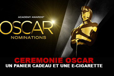 OSCARS: A basket of 125 000 $ and an e-cig!