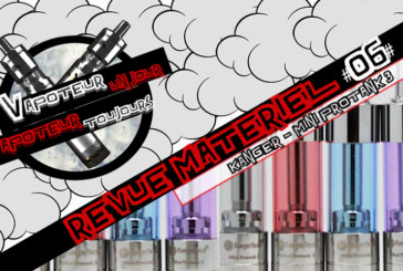 Hardware Review #06 - KANGER - MINI PROTANK 3 - BDC