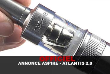 UFFICIALE: ANNUNCIO ASPIRE - ATLANTIS 2.0