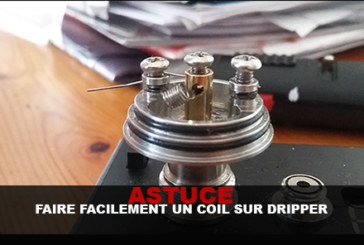 TIPS: Easily make a coil on dripper!