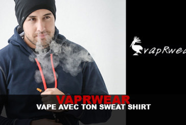 VapRwear: Vape with your sweatshirt!