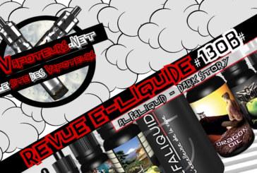 E- נוזלי סקירה #130b - ALFALIQUID - סיפור אפל (EN)