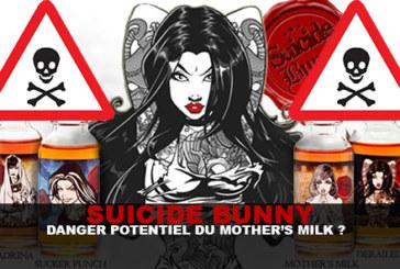 SUICIDE BUNNY: Potential danger of mother's milk?