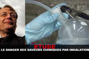 STUDY: הסכנה של טעמים כימיים על ידי שאיפה!