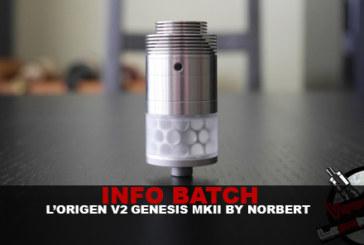 מידע נוסף: Origen Genesis v2-MkII (מאת נורברט)