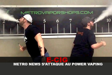 E-CIG: Metro News решает проблему смены мощности!
