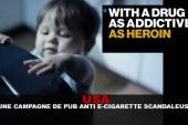 USA : Une campagne de pub anti e-cig scandaleuse !