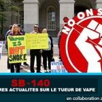SB-140 : Les dernières actualités sur le tueur de vape !