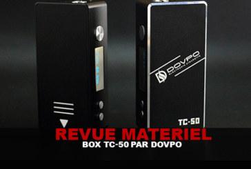 REVUE MATERIEL : Le test complet de la box TC-50 (Dovpo)
