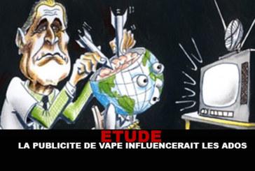ETUDE : Les publicités sur la e-cig influenceraient les ados !