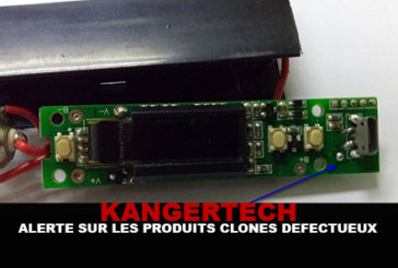 KANGERTECH: Alert on defective cloned products!