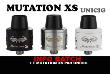 INFO BATCH : Mutation XS (Unicig)