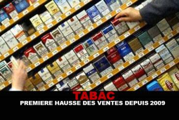 TABAC : Première hausse des ventes depuis 2009