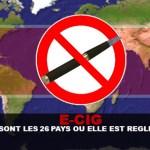 E-CIG: מהן מדינות 26 שבהן הוא מוסדר?