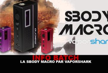 CHARGEN INFO: Box SBODY MACRO (Vaporshark)