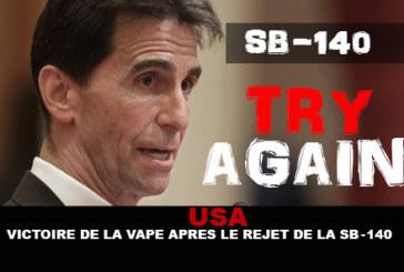 USA: Vittoria dello svapo dopo il rifiuto dell'SB-140!