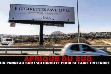 AFRIQUE DU SUD : Un panneau sur l'autoroute pour se faire entendre !