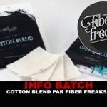 ΠΕΡΙΓΡΑΦΗ ΠΕΡΙΕΧΟΜΕΝΟΥ: Βαμβάκι Blend (Fiber Freaks)