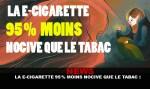 חדשות: E- סיגריה 95% פחות מזיק מאשר טבק!
