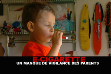 E-CIGARETTE: A lack of vigilance of the parents!