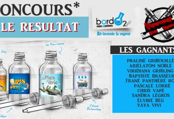 תוצאה: תחרות Bordo2 / Vapoteurs.net