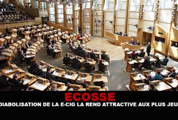 ECOSSE : La « diabolisation » de la e-cig la rend attractive aux plus jeunes.
