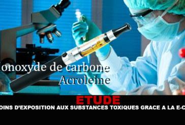 מחקר: פחות חשיפה לחומרים רעילים הודות e-cigs!