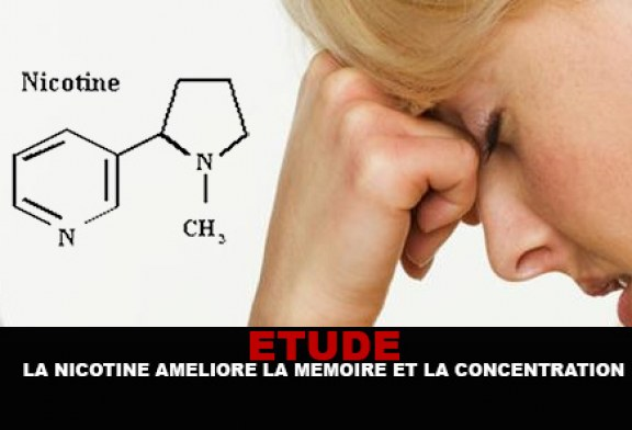 ETUDE : La nicotine améliore la mémoire et la concentration.